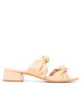 Womens Nude Leather Bobbie Beaux Sandal 4