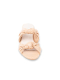 Womens Nude Leather Bobbie Beaux Sandal 6