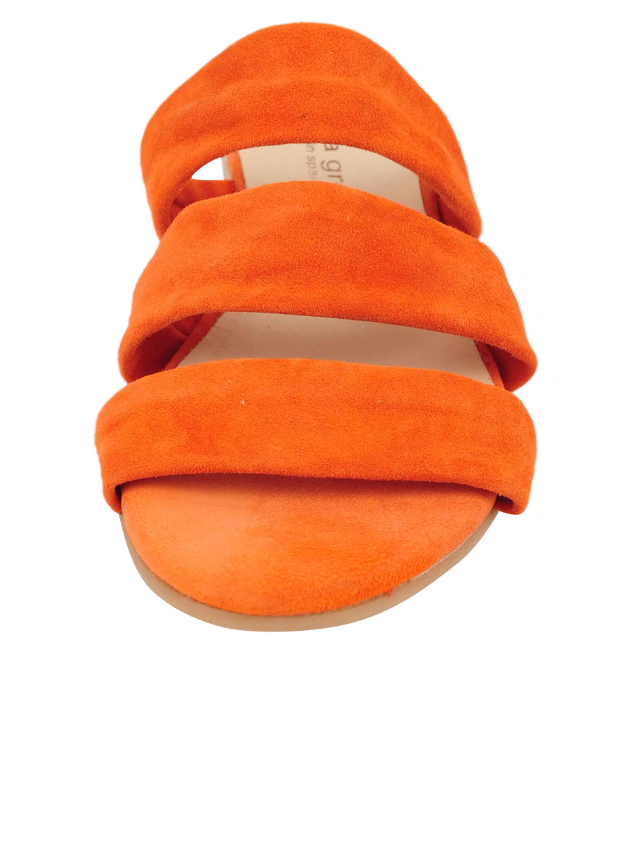 Womens Orange Josee Wedge Sandal 4