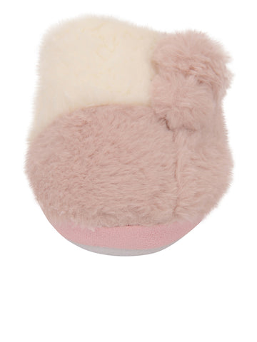 Womens Pink Patch Slipper 4 Alternate View