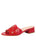 Womens Red Boca Slip-On Sandal