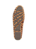 Womens Tan & Brown Tiger Haircalf Jillian Driving Moccasin 5