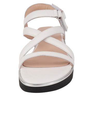 Womens White Capri Sport Sandal 4 Alternate View