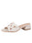 Womens White Boca Slip-On Sandal