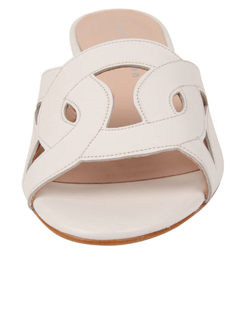 Womens White Boca Slip-On Sandal 4 Alternate View