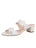 Womens White Palm Beach Scalloped Sandal