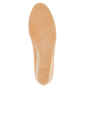 Womens Beige/Black Just Quilted Wedge Espadrille 7