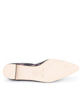 Womens Black/pink Mist Pointed Toe Ballet Flat 7