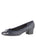 Womens Navy Titou Block Heel