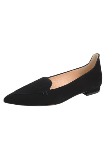 Womens Black Suede Lily