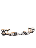 Womens Black / White Stella 5