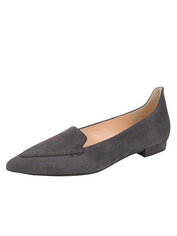 Womens Grey Suede Lily