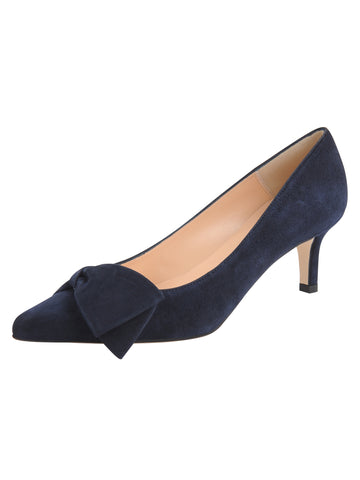 Aster - Navy Suede