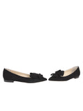 Womens Black Suede Carly 5