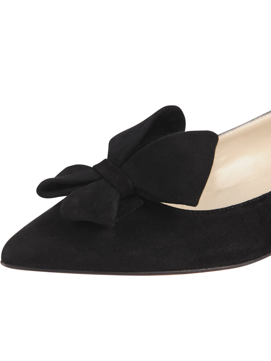 Womens Black Suede Carly 6