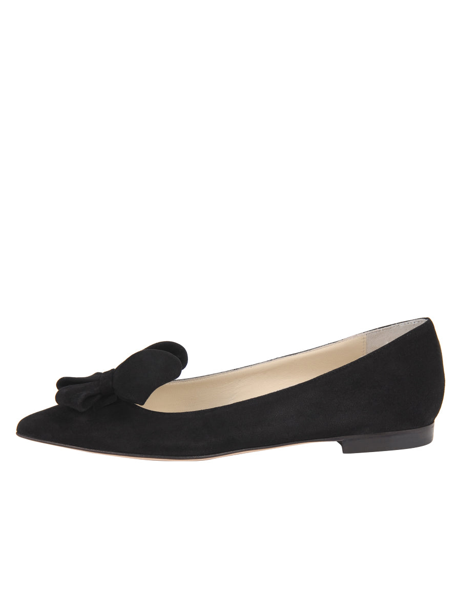 Womens Black Suede Carly 7