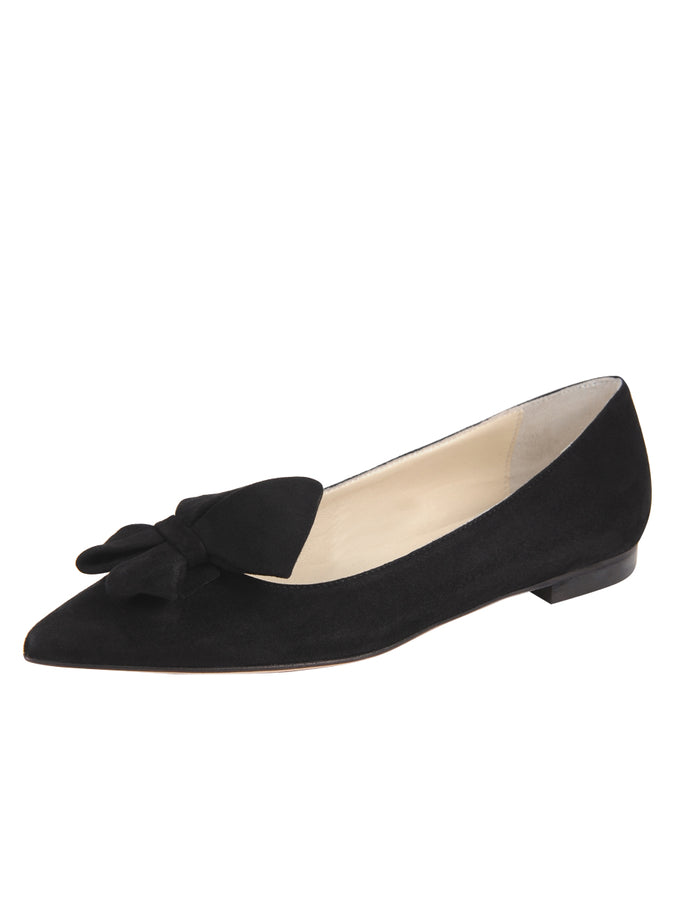 Womens Black Suede Carly