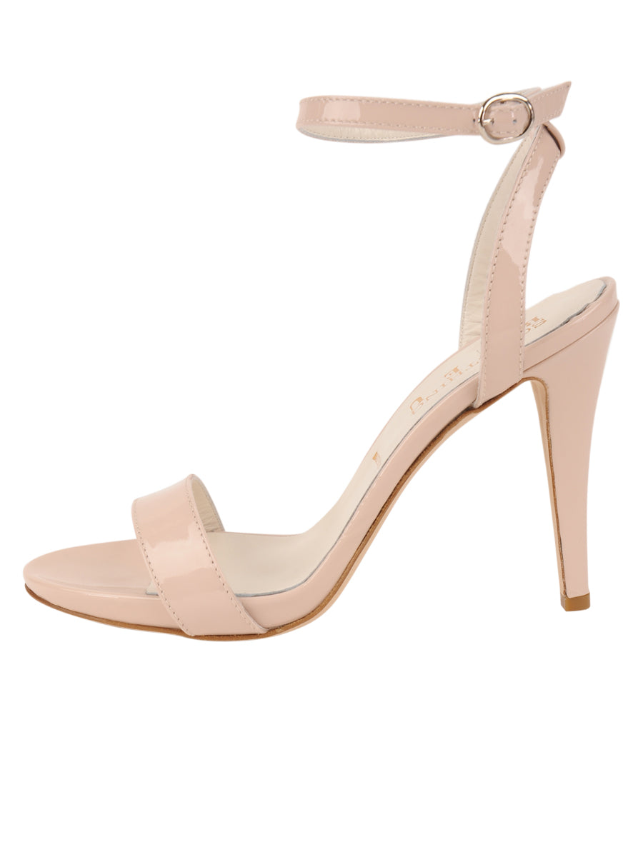 Womens Blush Patent Mobster 7