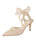 Womens Citron Holographic Elvie Pointed Toe Pump