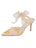 Womens Gold Romance Elvie Pointed Toe Pump