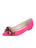 Womens Hot Pink Satin Milva