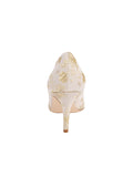 Womens Ivory Romance Pointed Toe Pump 2