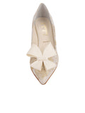 Womens Ivory Romance Pointed Toe Pump 4