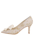 Womens Ivory Romance Pointed Toe Pump 7