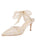 Womens Ivory Romance Elvie Pointed Toe Pump