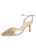 Womens Platino Nappa Emmie Pointed Toe Pump