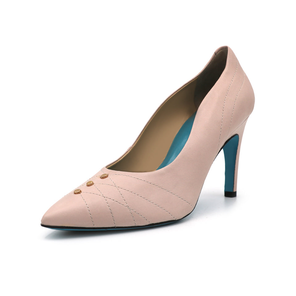 Womens Confetto Nude Parmasoft Marzio Pointed Toe Pump