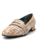 Womens ROSADO VERSAILLES FABRIC ADELE TES LOAFER 2