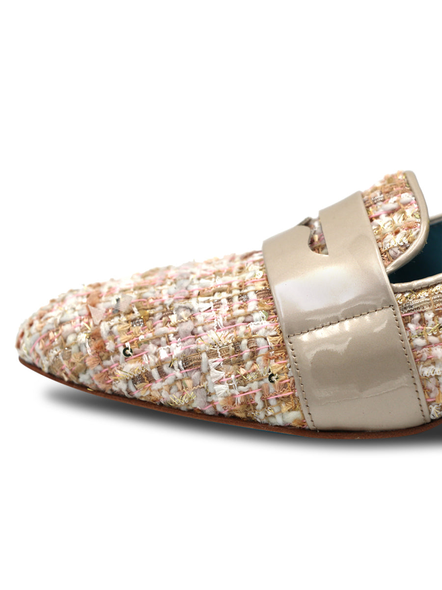 Womens ROSADO VERSAILLES FABRIC ADELE TES LOAFER 4