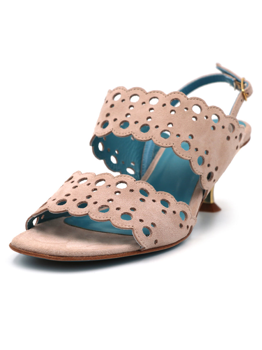 Womens SAND CASHMERE TAYRA SANDAL 2