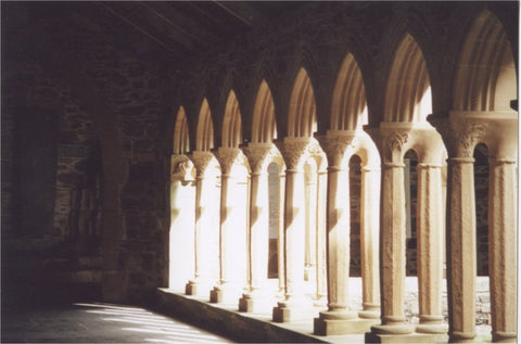 The Cloisters of Iona Abbey
