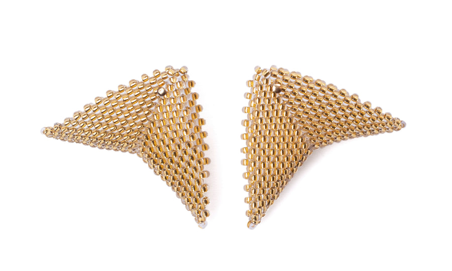 Grace Earrings in Light Gold (Precious Collection)