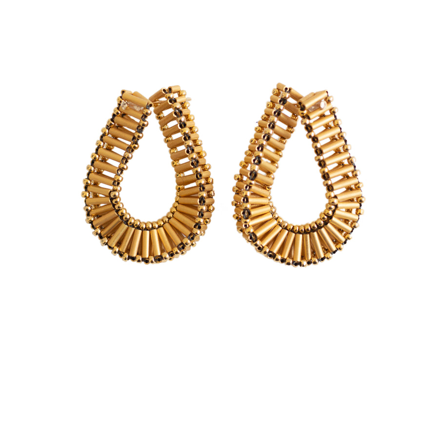 Embrace Earrings in Gold
