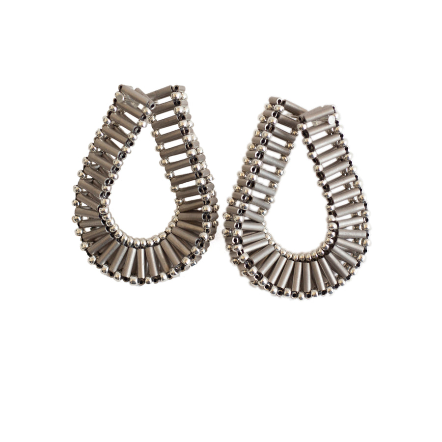 Embrace Earrings in Silver