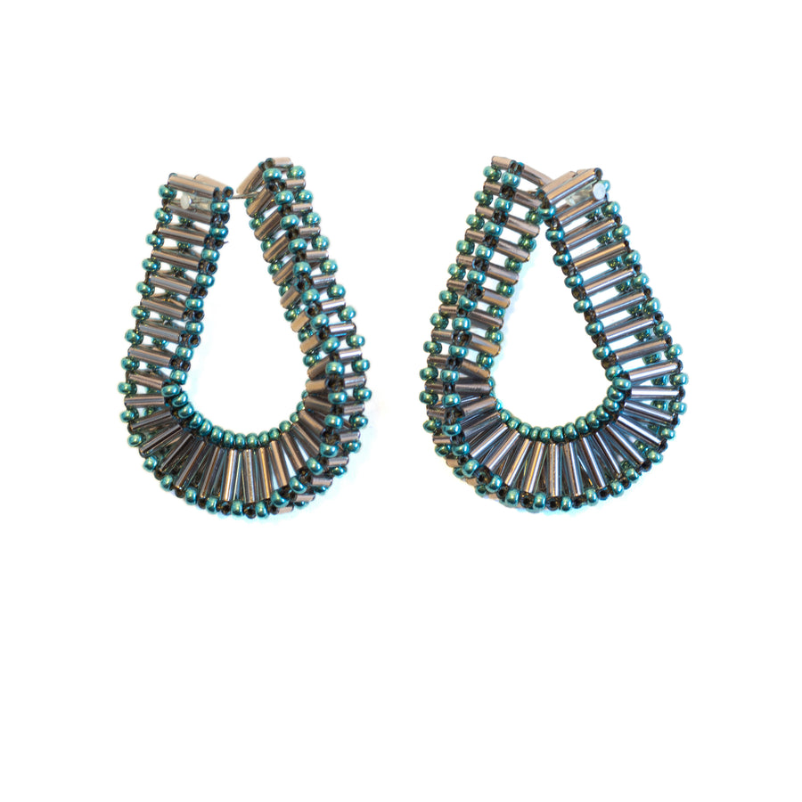 Embrace Earrings in Turquoise
