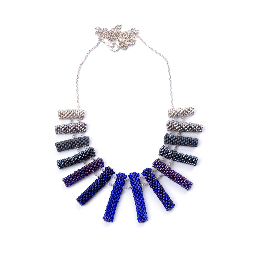 Iona Necklace in Indigo