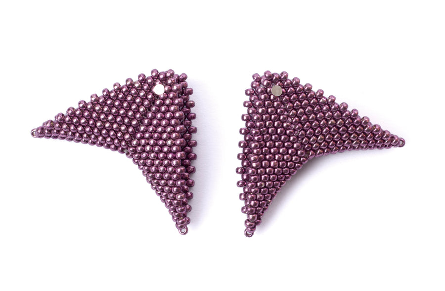 Grace Earrings in Orchid (Classic Collection)