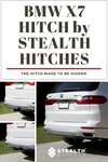 STEALTH HITCHES BMW X7 (G07) Invisible Hitch