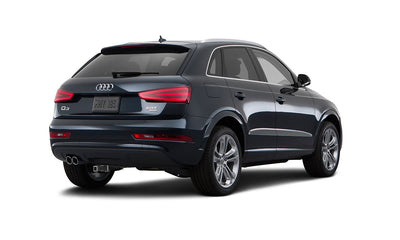 Audi Q3 Hitch - MADE to be HIDDEN. Tailored trailer hitch for Audi Q3.