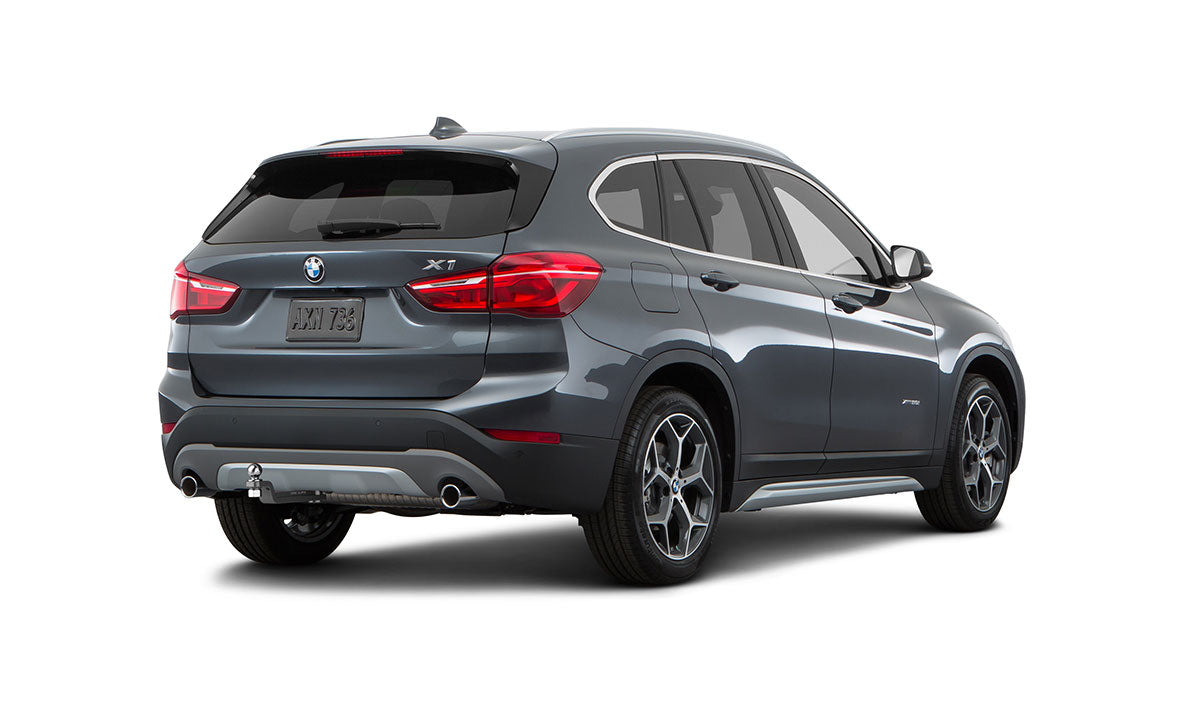 bmw x1 hitch made to be hidden increase tow capacity. Black Bedroom Furniture Sets. Home Design Ideas