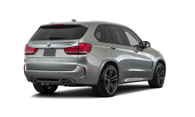 BMW X5M (F85) High Performance 2016 - Present - Stealth Hitches - The Hitch Made to be Hidden