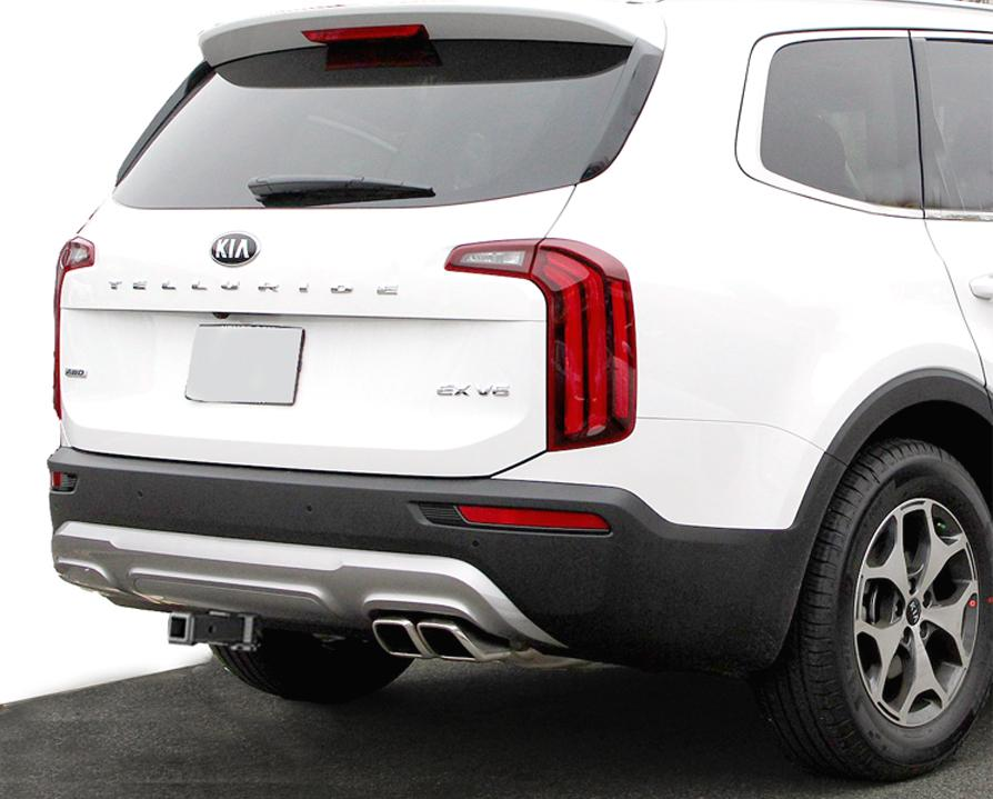 Kia Telluride Trailer Hitch - Hidden Hitch for Bikes, Towing