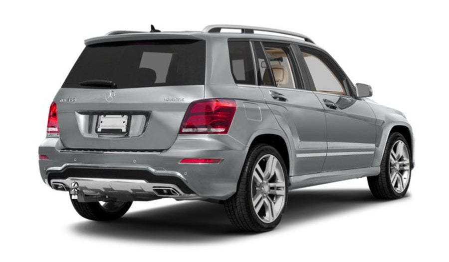 Mercedes GLK Hitch | GLK Trailer Hitch | by Stealth Hitches