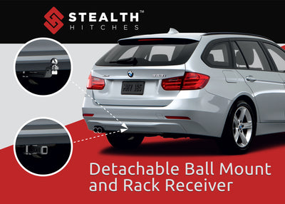 BMW X6 Hitch for E71 - Stealth Hitches - Tailored trailer hitch for BMW X6