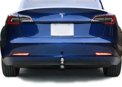 Tesla Model 3 hitch | by Stealth Hitches