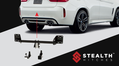 Hitch for Mini Cooper Hatchback (F55)  | by Stealth Hitches